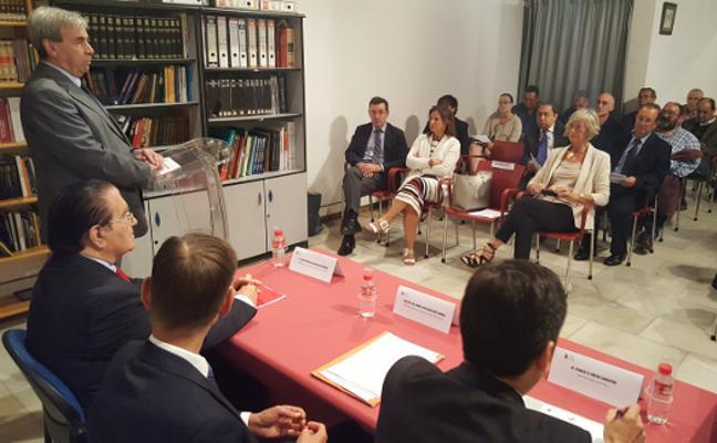 Los jueces de paz se reúnen en Cartes para hablar de su presente y futuro