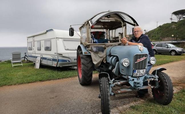 Más de 1.500 Km en tractor hasta Comillas
