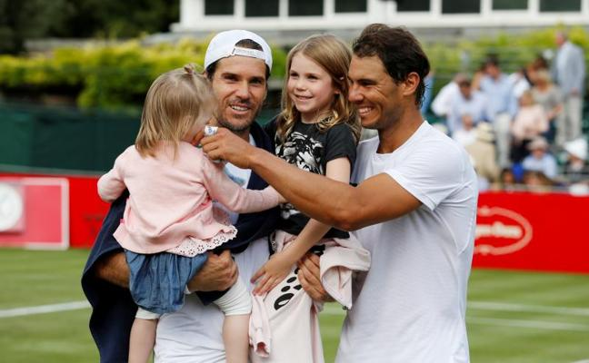 Nadal y la ilusión de disfrutar Wimbledon como la primera vez