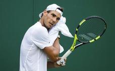 Nadal llega «con confianza» a Wimbledon