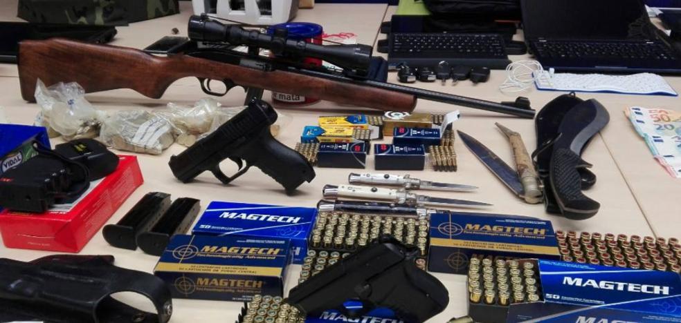 Desarticulada una organización criminal en Cantabria dedicada al tráfico de drogas