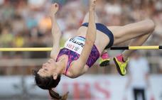 Ruth Beitia: «La vuelta ha sido complicada pero voy ganando sensaciones»