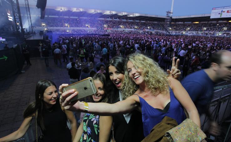 El Sardinero comienza a calentar motores para el concierto de Enrique Iglesias