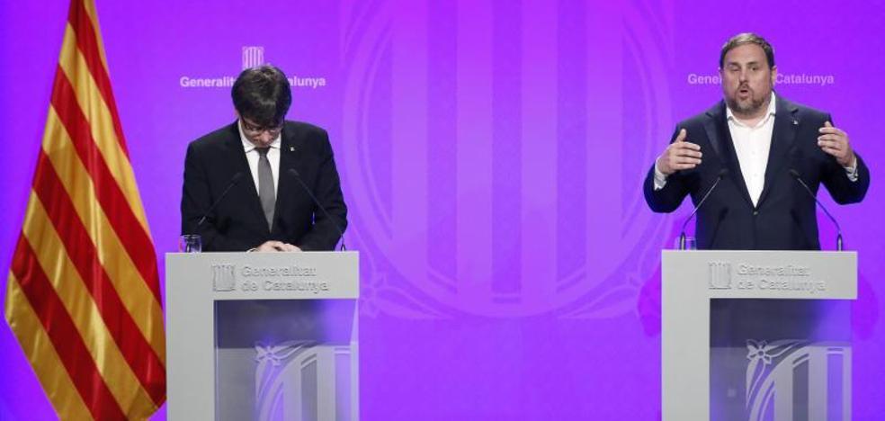 Junqueras eleva los ataques al resto de España: «¿Se llevarán a nuestros hijos?»