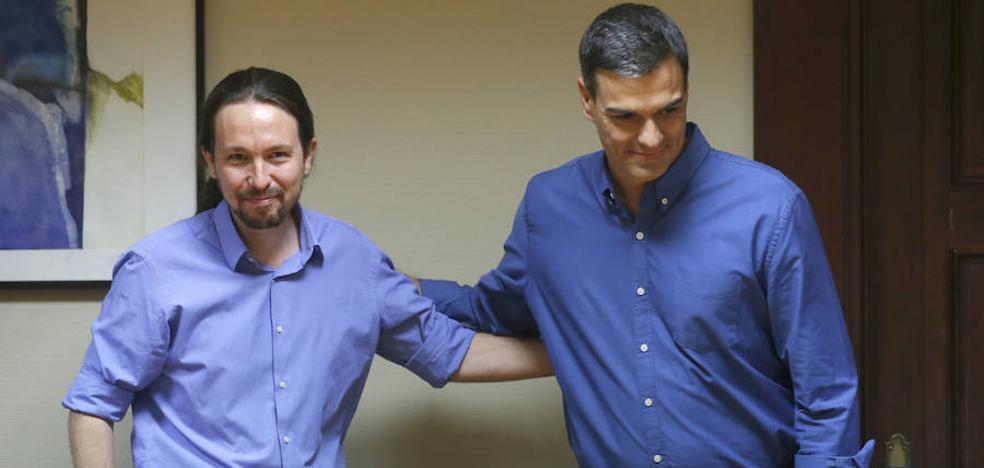 El PSOE y Podemos estrenan con roces su colaboración parlamentaria
