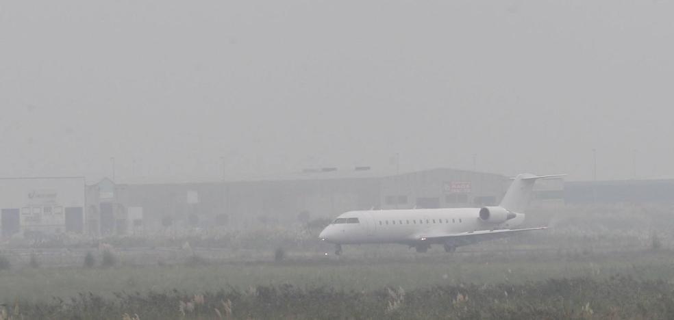 Cancelados dos vuelos a Madrid