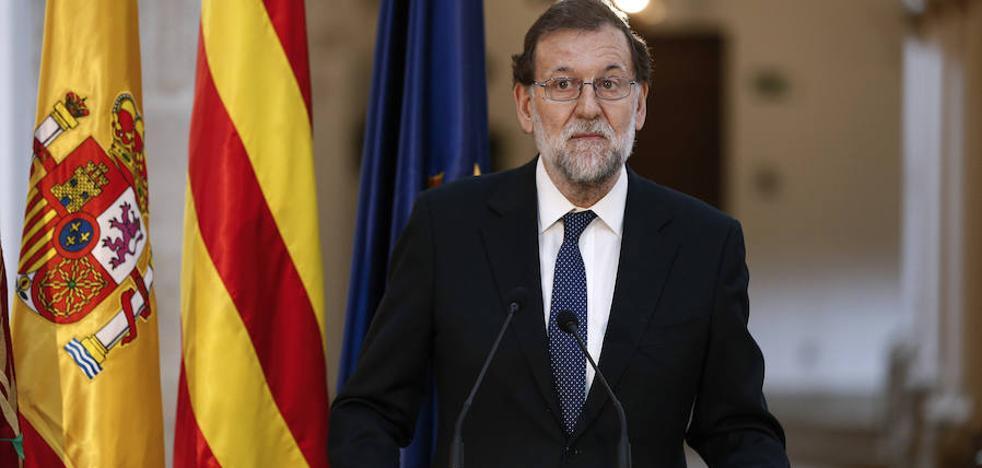 Rajoy afirma estar tranquilo ante el 1-O porque «no se celebrará»