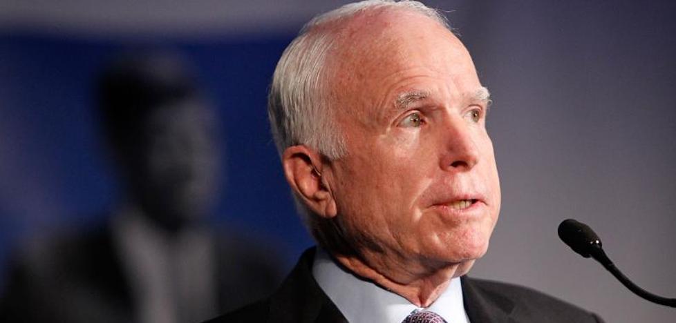 Detectan un tumor cerebral al excandidato a la Casa Blanca John McCain