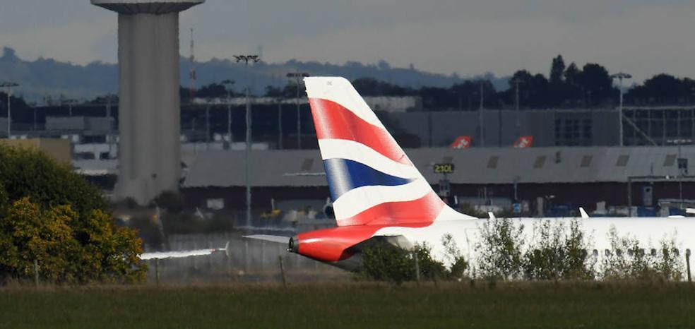 El espacio aéreo de Reino Unido se agota