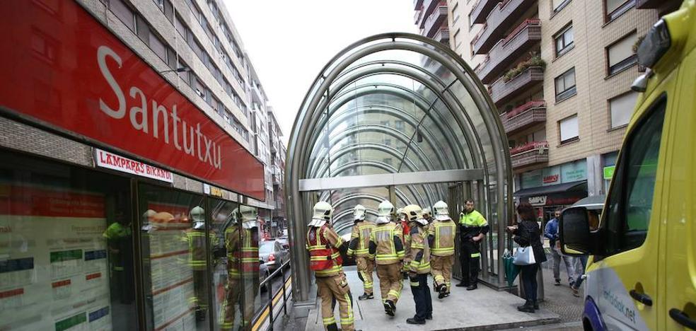 Fallece un varón al ser arrollado en el metro de Bilbao