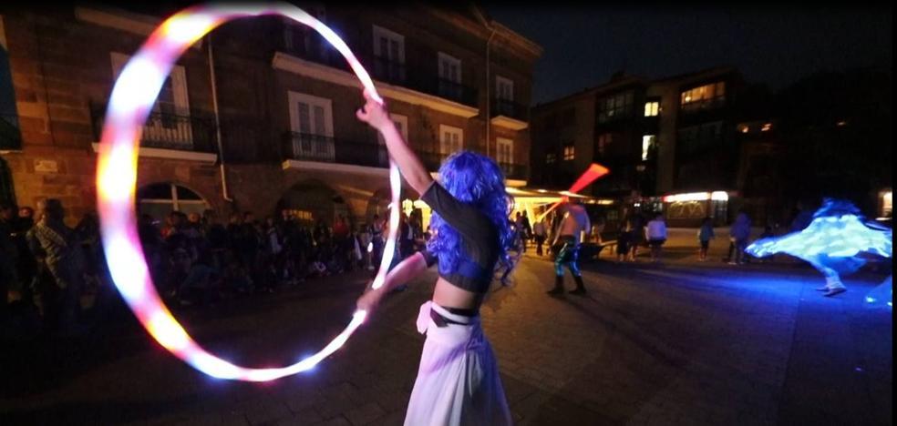 Danza de luces y fantasía