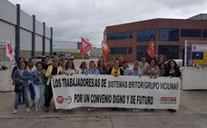 Huelga indefinida en Britor desde el 31 de julio