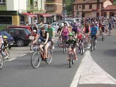 En Piélagos, todos en bicicleta