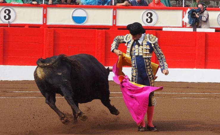 Novillada en la Feria de Santiago