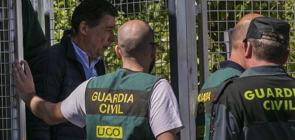 Ignacio González pide al juez que le deje en libertad por el deterioro sufrido en la cárcel