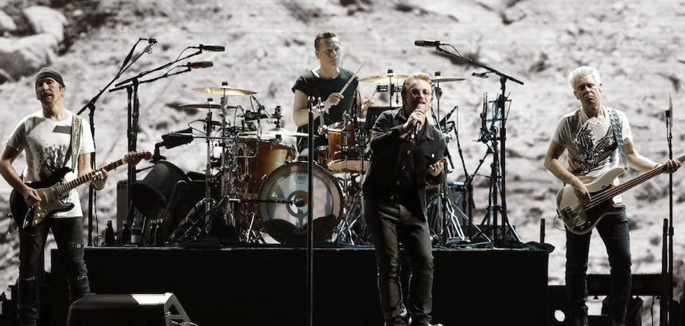 U2 publicará nuevo disco este año
