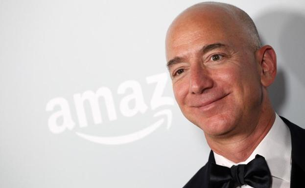 Jeff Bezos, fundador de Amazon.