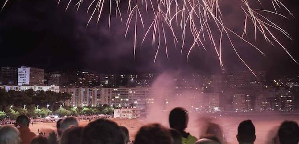 Esta noche, fuegos artificiales frente al Centro Botín