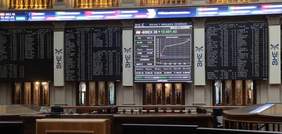 El Ibex abre a la baja, arrastrado por la avalancha de resultados empresariales
