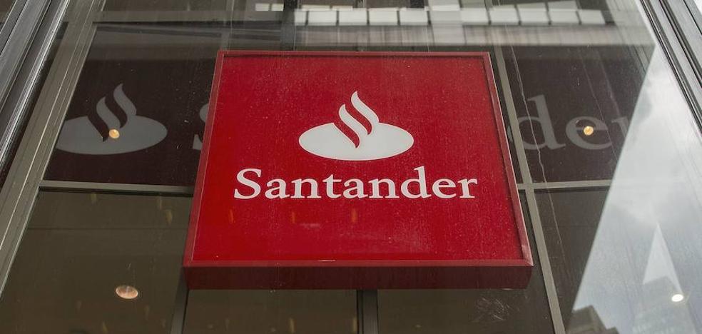 Las nuevas acciones de Banco Santander saltan este lunes al parqué