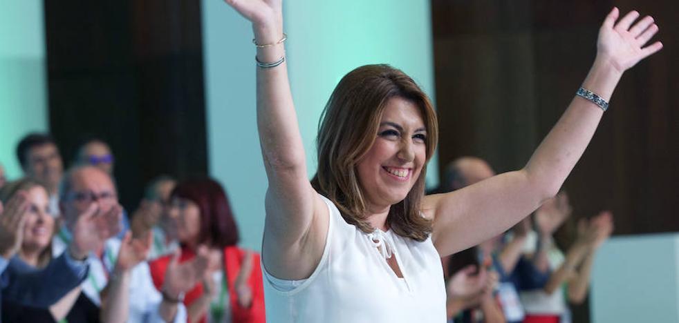 Susana Díaz se muestra «orgullosa» de ser andaluza y de su acento