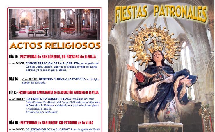 Programa fiestas religiosas, Laredo