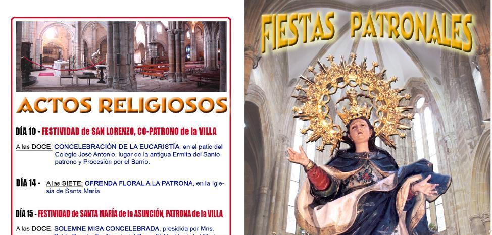 Laredo inicia este jueves sus fiestas patronales