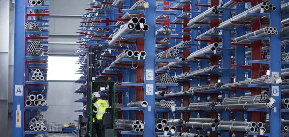 La facturación industrial de Cantabria crece un 11% hasta junio, tres puntos más que la nacional