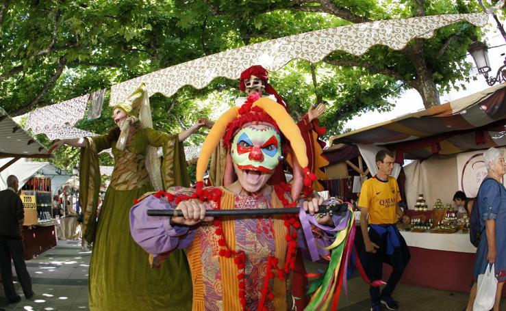 Un mercado renacentista anima las fiestas de La Virgen Grande de Torrelavega