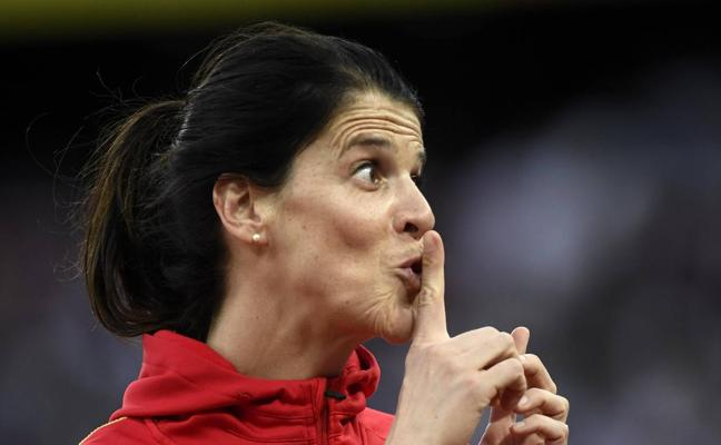 Ruth Beitia queda última en la final de salto de altura del Mundial