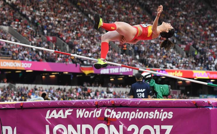 Final de Ruth Beitia en Londres