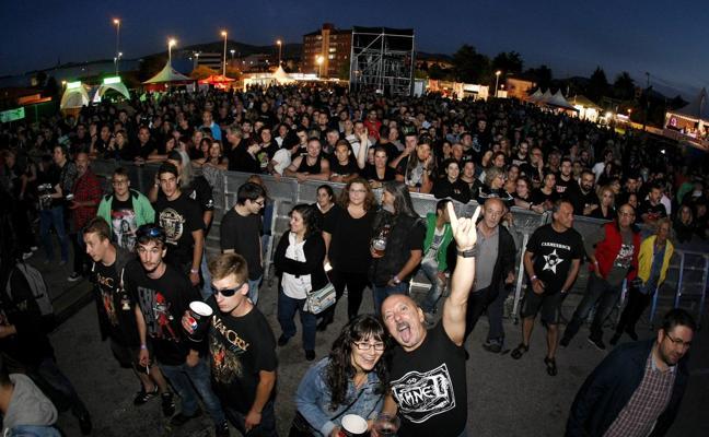 El heavy-rock de Barón Rojo invadió Torrelavega
