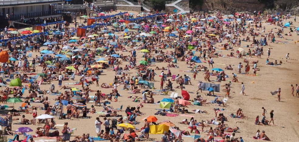 A la playa antes de la galerna