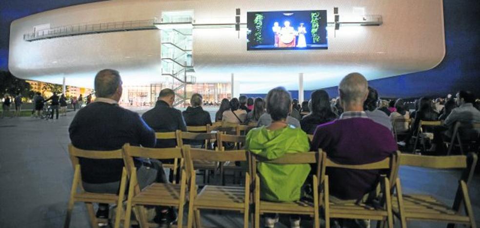 Cine de verano y arte en el Centro Botín