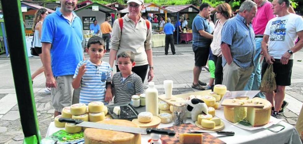 Pesquera se convierte en la capital del queso