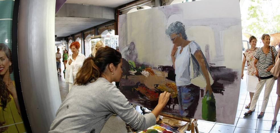 Los pintores le sacarán los colores a la ciudad en el concurso de Sago