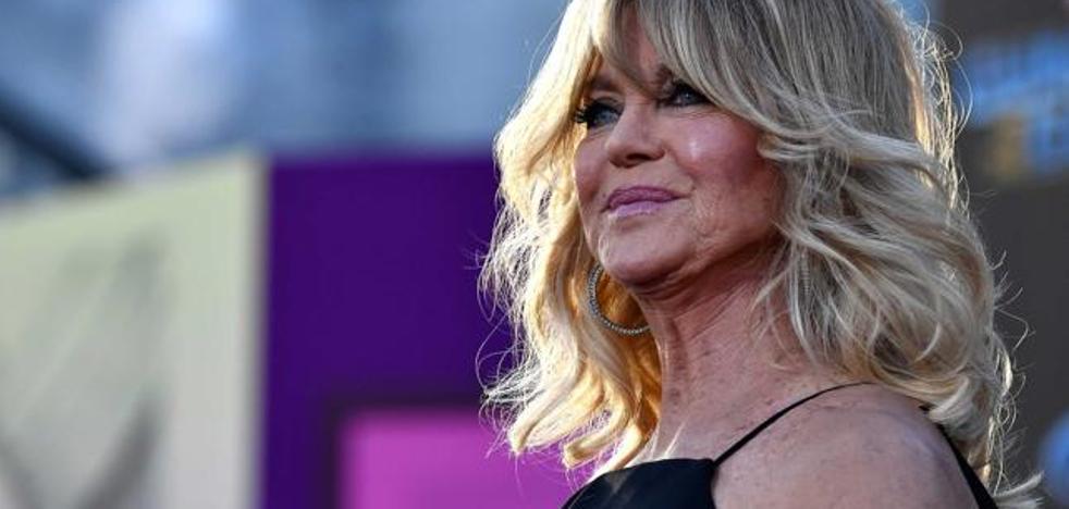 Goldie Hawn: «Había olvidado lo privilegiados que somos los actores»