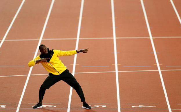 Usain Bolt./Reuters