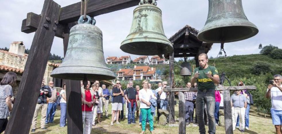 El nuevo encuentro de tocadores de campanas de Vierna aboga por la cultura