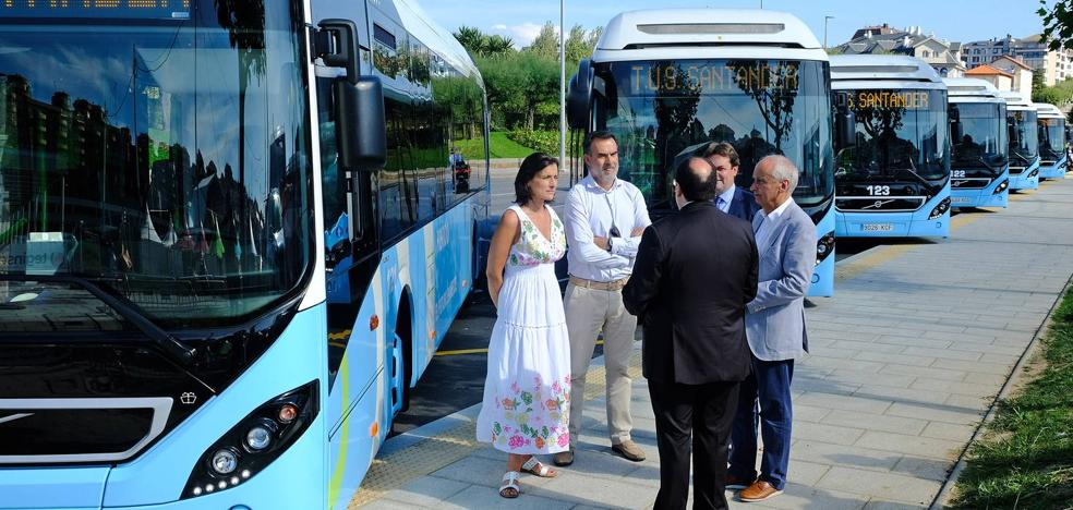 La flota del TUS incorpora seis nuevos autobuses híbridos