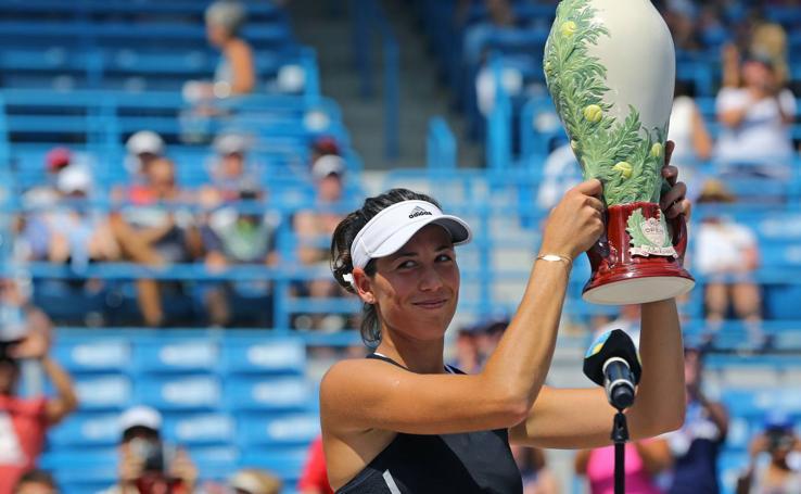 Garbiñe Muguruza, campeona de Cincinnati