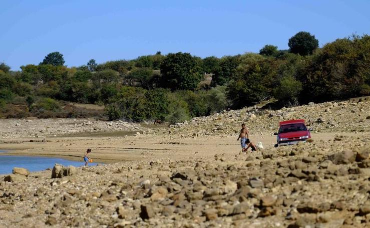 La sequía reduce el nivel del Pantano al 31%