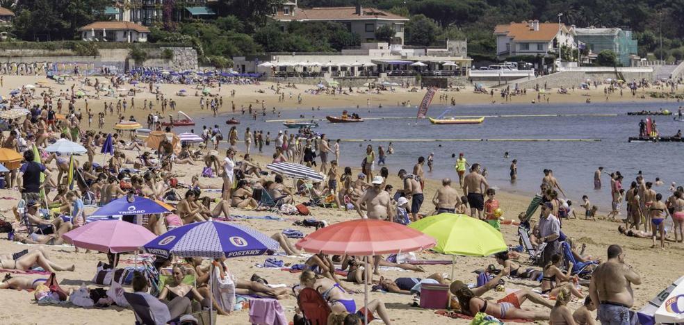 Cantabria llega a los 37,3 grados, en un lunes abrasador