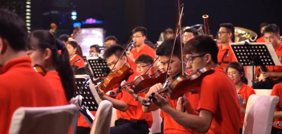 La Asian Youth Orchestra debuta este martes en el FIS