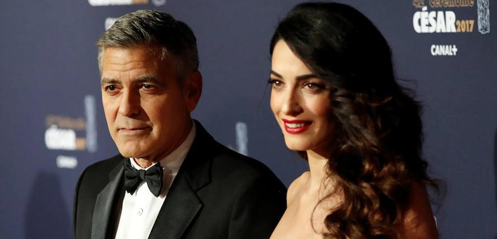 George y Amal Clooney donan un millón de dólares para lucha contra el racismo