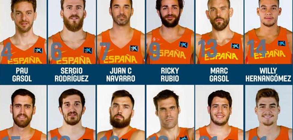 Vives, Sastre y Oriola, al Eurobasket por Llull, Rudy y Mirotic