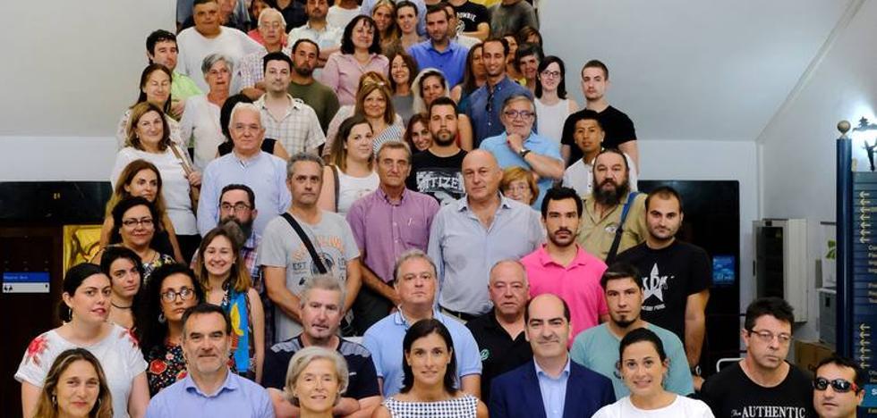 Acto de bienvenida a los nuevos 314 trabajadores municipales de Santander