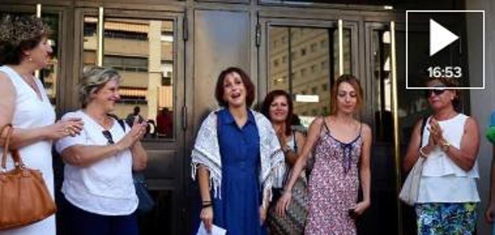 Juana Rivas: «No me voy a la cárcel. Me voy a casa con mis niños»