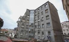 Cinco familias del edificio derrumbado en Sol pueden volver ya a sus casas