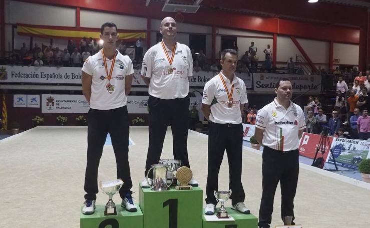 Jesús Salmón, campeón de España